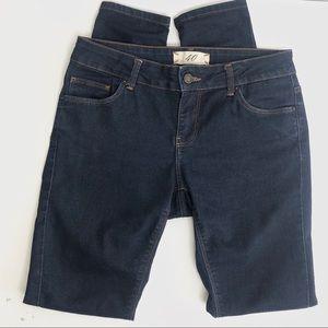 Zara Dark Wash Skinny Jeans Size 8